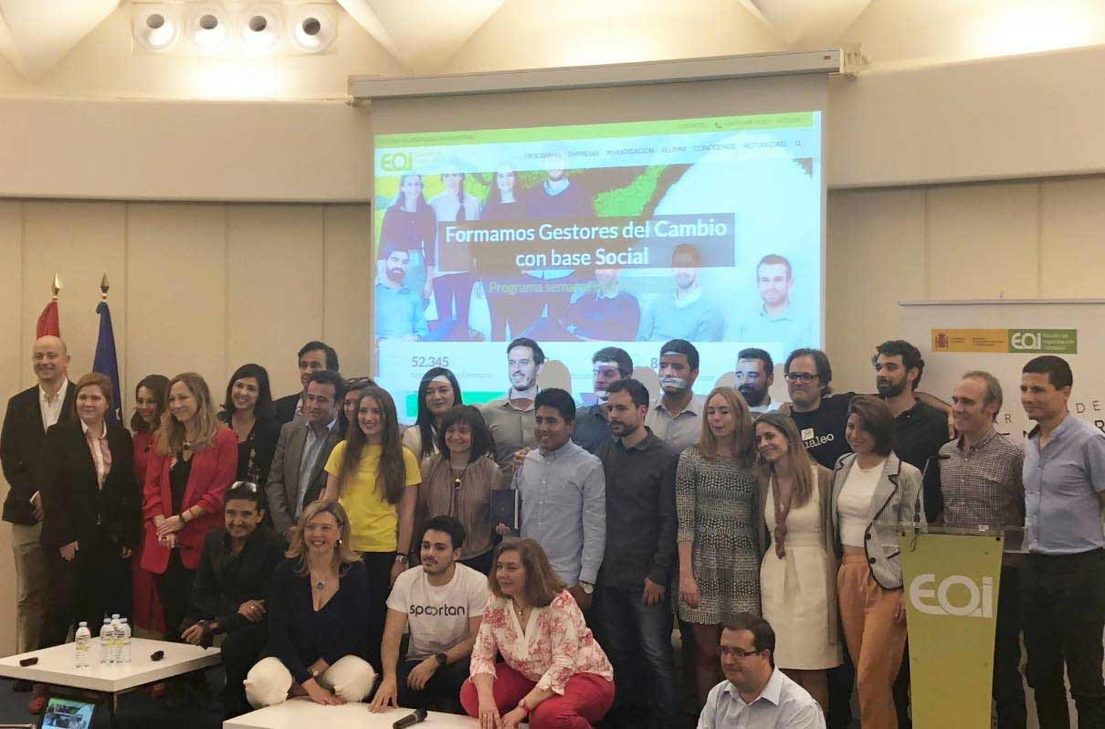 Emprendedores coworking EOI Madrid