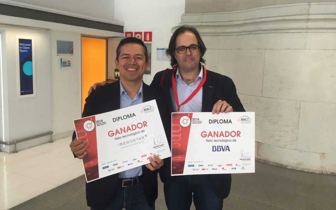 Visualeo recibe el premio del BBVA del programa Ances Open Innovation