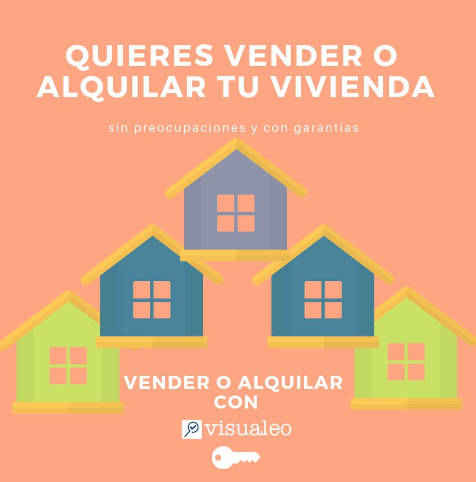Visualeo te ayuda a vender o alquilar tu vivienda
