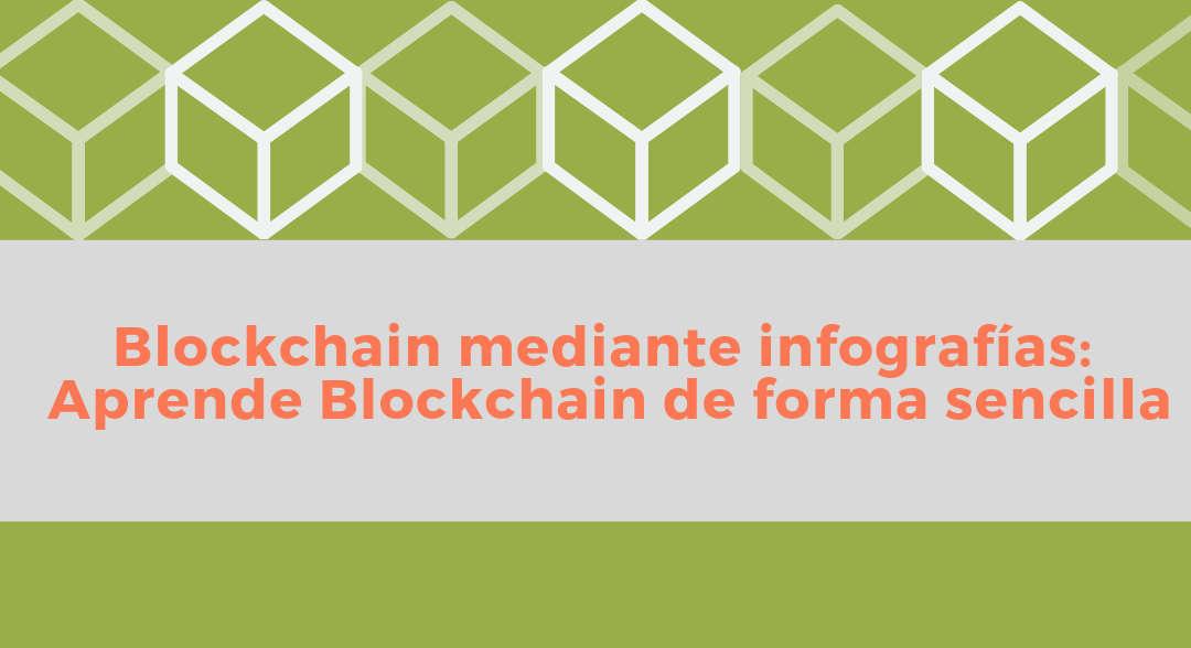 Portada del post Blockchain mediante infografías: Aprende Blockchain de forma sencilla