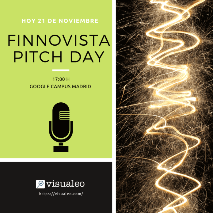 Cartel Visualeo Finnovista Pitch Day