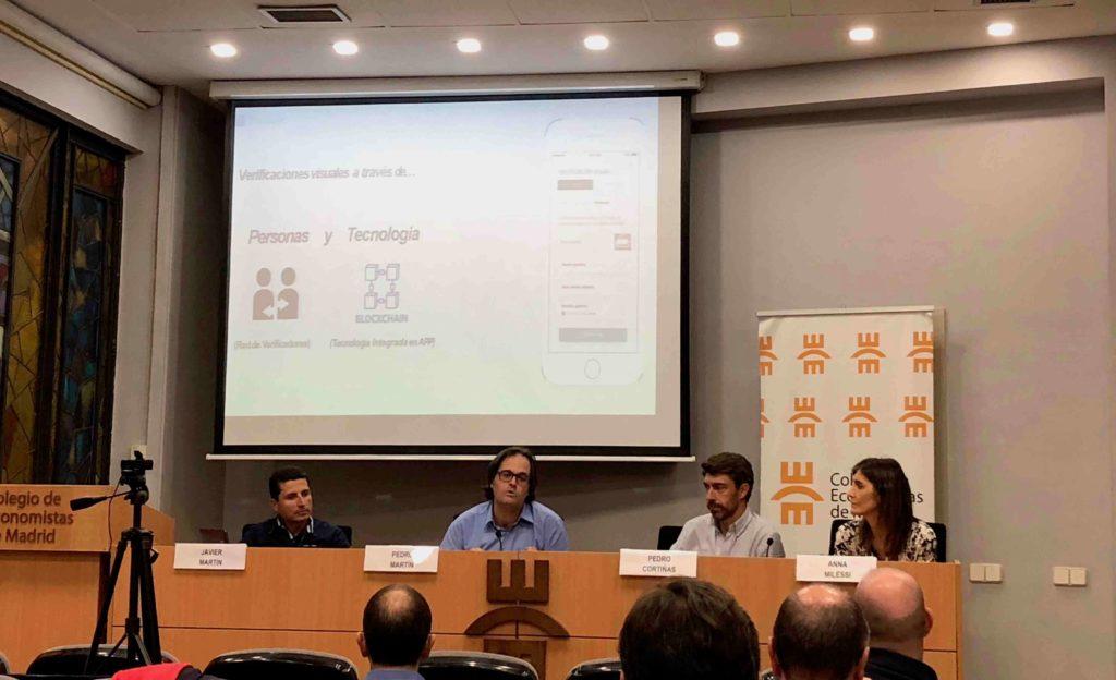 Evento Colegio de Economistas